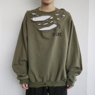 boro custom sweat , body-usmc