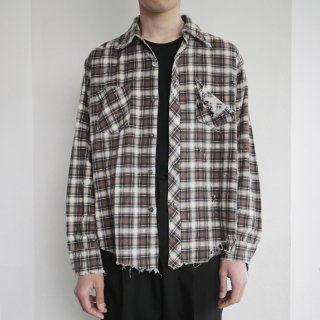 boro custom check shirt