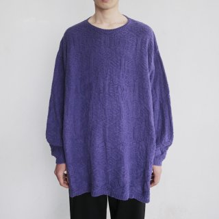old gap cotton loose sweater