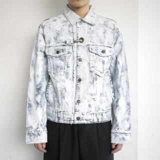 remake painting trucker jacket