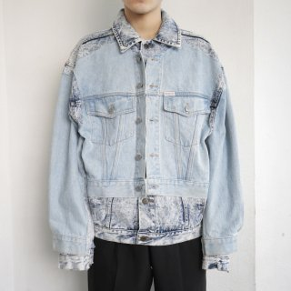 remake docking trucker jacket