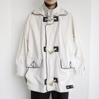old euro hook detachable collar jacket