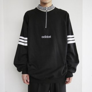 old adidas half zipped sweat