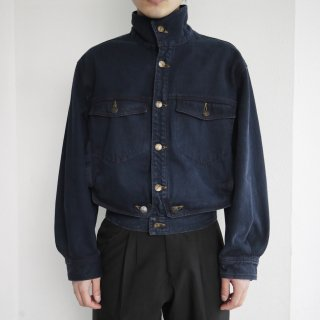 old marithé françois girbaud narrow denim jacket