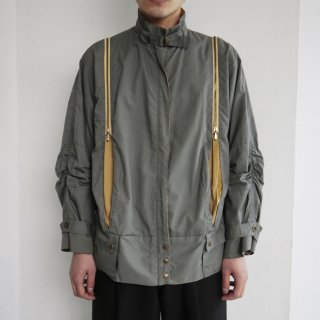 old double zipped jacket
