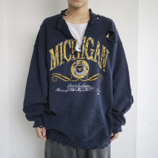 boro custom sweat , michigan wolverines