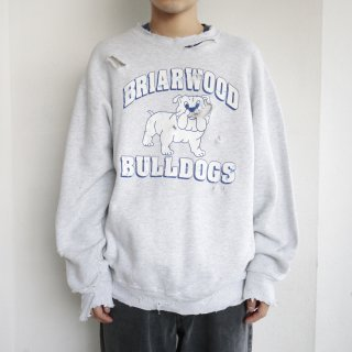 boro custom sweat , briarwood bulldogs