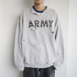 boro custom sweat , u.s.army