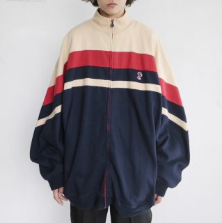 old loose sweat track jacket