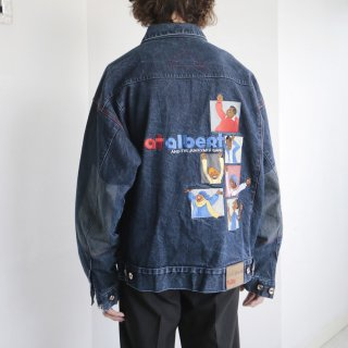 old platinum fubu junkyard gang trucker jacket