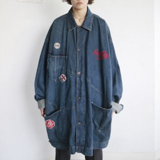 old roca wear oversized buggy trucker jacket