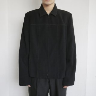 old stitch zipped jacket
