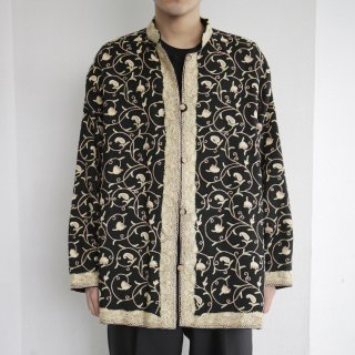 old botanical paisley broderie jacket