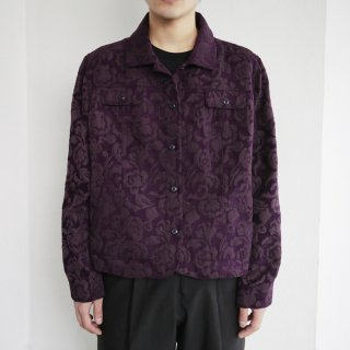 old flower gobelin jacket