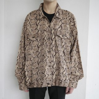 old python loose trucker jacket