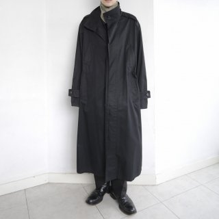 old double collar long coat