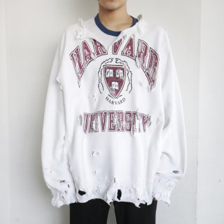 boro custom sweat , body-replica reverse weave , harvard university