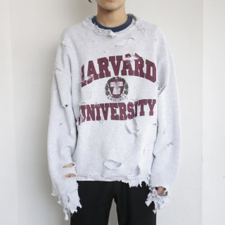 boro custom sweat , body-fruit of the loom , harvard university