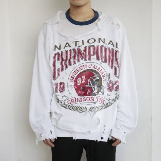 boro custom sweat , Alabama crimson tide football