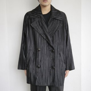 old pleats double breasted jacket