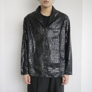 old python zipped jacket