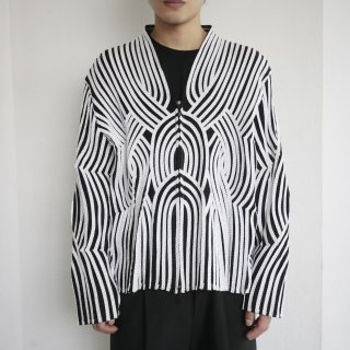 old geometrical deform jacket
