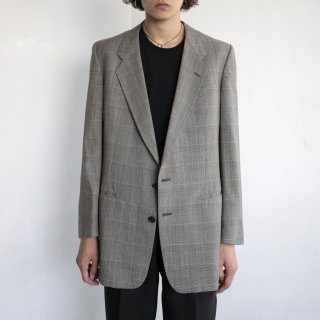 old GIVENCHY check tailored jacket