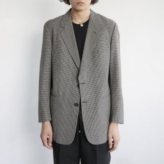 old FENDI gingham check tailored jacket
