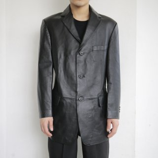 old 3b leather tailored jacket