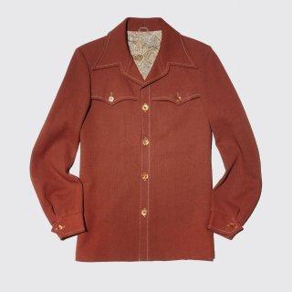 vintage poly western jacket