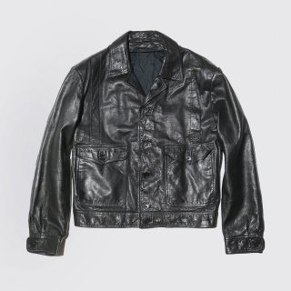 vintage aviator leather jacket