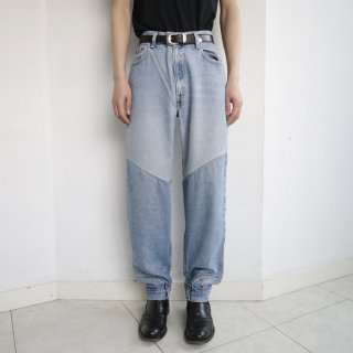 remake upside down denim pants ii