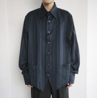 old stripe shirt jacket