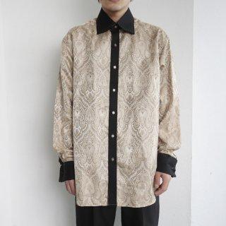 old damask shirt