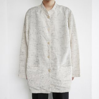 old trival nep stand collar shirt