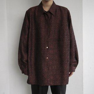 old uneven cross shirt