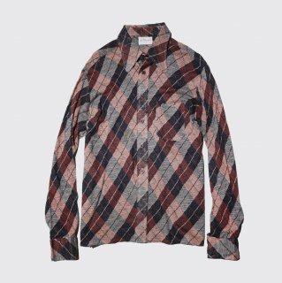 vintage argyle shirt