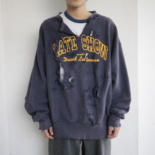 boro custom sweat , late show with david letterman , body-lee crossgrain