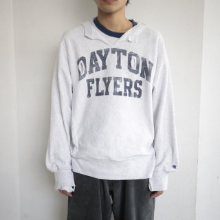 boro custom sweat , dayton flyers , body-champion original reverse weave