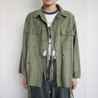vintage u.s.army broken utility shirt