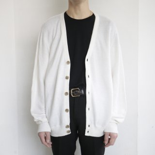 old loose acrylic cardigan