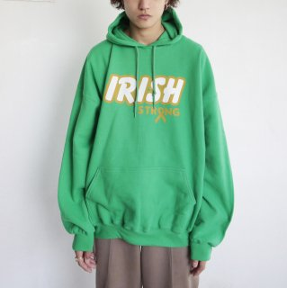 old irish strong loose hoodie