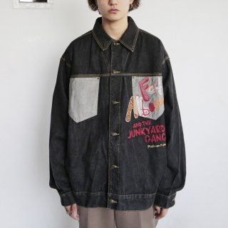 old platinum fubu junkyard gang buggy trucker jacket