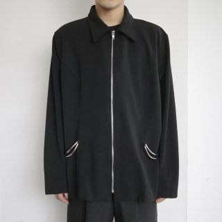 old cord zipped jacket