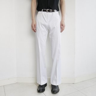 old lowrise flare trousers