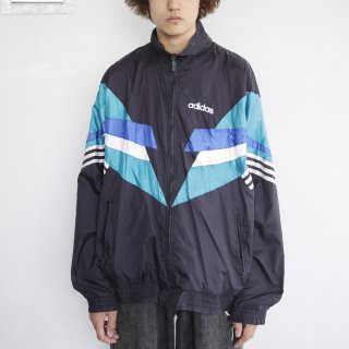 old adidas loose nylon jacket