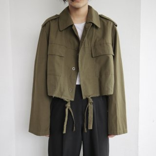 old resized short aviator jacket