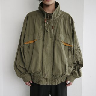 old loose utility jacket