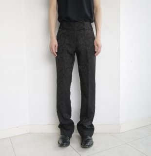 old broderie flare trousers