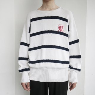 old polo ralph lauren border cotton sweater
